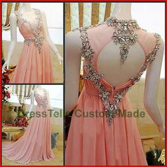 Long Prom Dress / Pink Prom Dress 2014 / Beaded Evening Dress / Purple Party Dress / /Homecoming Dress/Graduation Dress/Formal Dress on Wanelo Prom Dresses Long Pink, Strapless Prom Dresses, Prom Dress 2014, Long Prom Gowns, A Line Prom Dresses, Pretty Dresses, Pink Dress, Dress Long, Chiffon Dresses