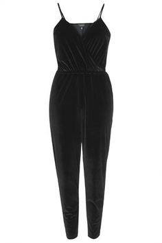 Velvet Wrap Front Jumpsuit - So fun with my Virgo's Lounge blazer for a holiday party. Another must have from Topshop