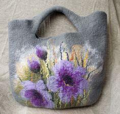 nice felted purse