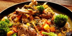 Braised Duck Legs With Vegetables