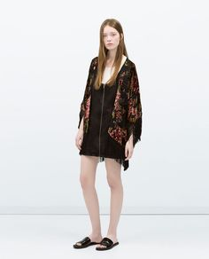 PRINTED KIMONO-Kimono-Jackets-WOMAN | ZARA United States