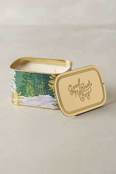 Good Nature Soy Holiday Candle  #anthropologie