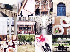 On Instagram - Paris in Four Months