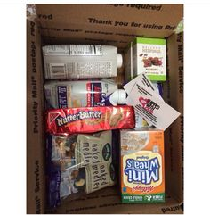 Www.shippedwithlove.com even has protein boxes to send to your loved one! Check out the website for content, pricing, custom themes & more! #carepackages #customthemes #shippedwithlove #deployment #army #navy #airforce #marines #college