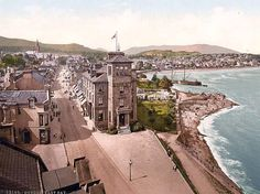 Inch Print - High quality print (other products available) - East Bay, Dunoon, Scotland. 1890 and ca. Date: - Image supplied by Mary Evans Prints Online - Photo Print made in the USA Norway Travel, Ireland Travel, Dunoon Scotland, Navy Times, Edinburgh City, Glasgow, Places In Scotland, Colorized Photos, England And Scotland
