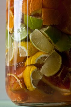 Mixed citrus liqueur - I had to say goodbye to beer, I may have to say hello to my own homemade alcohol :)