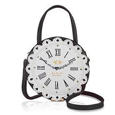 DARLING'S Clock Fashion Design Handbag Shoulder Bag