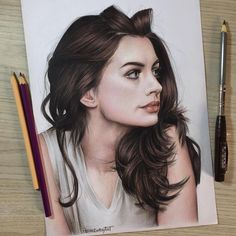Beautiful celebrities portrait with colored pencils by Pedro Lopes - Colored Pencil Artwork, Color Pencil Art, Pencil Art Drawings, Realistic Drawings, Art Drawings Sketches, Cool Drawings, Colored Pencils, Celebrity Drawings, Celebrity Portraits