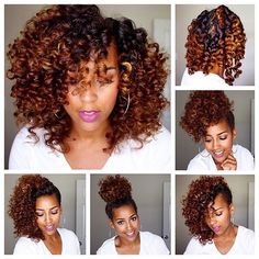 """""""#BeautyByNature Loving @brandilou88's flexi rod set! #GetTheLook with Hair Milk Styling Butter and Hair Milk Foam! Click link in bio to shop! #carolsdaughter"""" Photo taken by @carolsdaughter on Instagram, pinned via the InstaPin iOS App! http://www.instapinapp.com (08/04/2015)"""