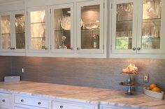 Get creative ideas on kitchen cabinet refacing at HouseLogic. Learn how to redo your kitchen cabinets to give your kitchen a whole new look for little money.