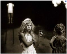 Sally Mann is an American photographer, best known for her large black-and-white photographs—at first of her young children, then later of landscapes. Description from sallymannsmckendr.tumblr.com. I searched for this on bing.com/images