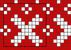 Ulla - Mummojemme neuleet - Mummon lapaset Knitting Charts, Tricot, Knitting Tutorials