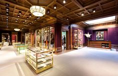 The New Etro London  Boutique inaugurated in August 2011. The Nineteenth-century building is at 43 Old Bond Street.