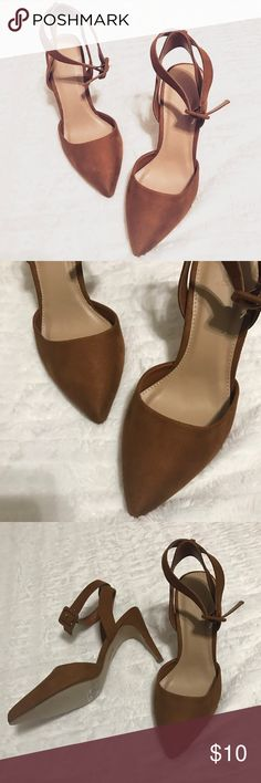 Brand NWT Tan Suede Heels // Forever21 // Size 7 These tan suede heels are the perfect neutral heels for all year round! They have never been worn! --- 🎉🥂 shop my #poshmark closet: @thehauteindian // use my code {UJEIX} for a •$5• credit when you sign up for Posh 🥂🍾 Forever 21 Shoes Heels