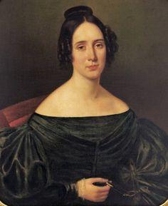 Mrs Louis Edouard Forstall by Jean Joseph Vanderchamp,New Orleans French born artist, 1790-1866
