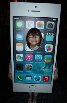 Kid's Halloween Costumes: iPhone 5 the coolest costume ever