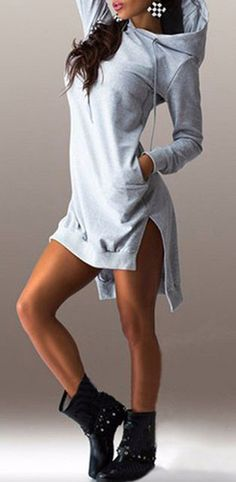 http://www.styleyourwear.com/category/hoodie/ All Day Long Sweatshirt Dress. I…