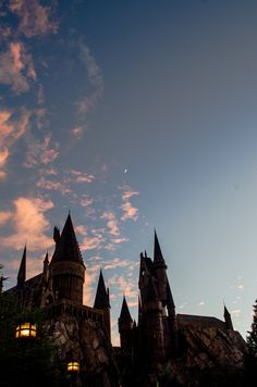 Hogwarts - Wizarding World of Harry Potter Harry Potter Tumblr, Images Harry Potter, Arte Do Harry Potter, Harry Potter World, Harry Potter Places, Harry Potter Castle, Harry Potter Characters, Harry Potter Hogwarts, Enchanted Rose