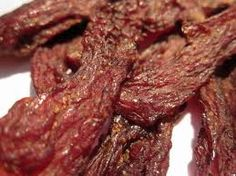 Oven-dried Beef Jerkey
