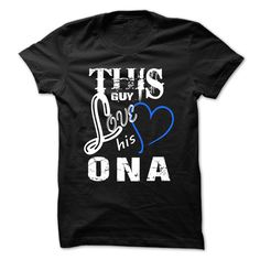 This Girl Love Ona - Cool T-Shirt !!!
