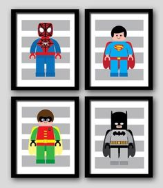 Super Hero Lego Art #superhero