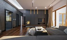 My interior design Modern Small House Design, Modern Barn House, Rustic Salon, Single Storey House Plans, Home Salon, Bungalow House Design, House Floor Plans, Architecture, Pergola