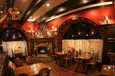 Blue Boar Inn, Midway, UT - this place is so charming and has great food