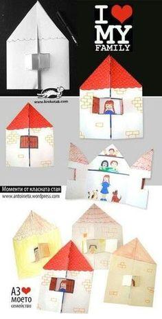 Casa della famiglia #artsandcraftsarchitecture,