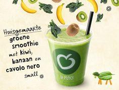 Groene smoothie met cavolo nero