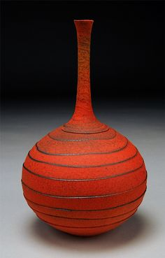 Nicholas Barnard ... his work is absolutely stunning. The shapes, texture and glazes are amazing.