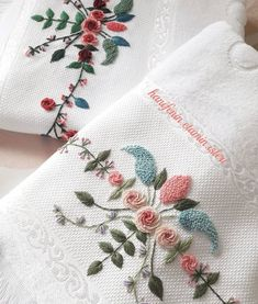 Embroidery Designs, Elsa, Instagram, Model, Embroidered Towels, Beaded Embroidery, Diapers, Bias Tape