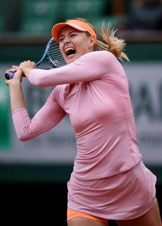 Maria Sharapova - French Open at Roland Garros in Paris - May 28-2014 #WTA #Sharapova #RolandGarros