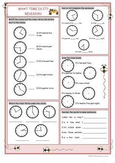 What Time Is It?(Revision)