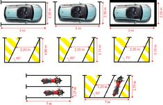 Dimensions places de parking et garage Le Parking, Dimension Garage, Garage Double, Garages, Parcs, Dimensions, Preschool, Layout, Arquitetura