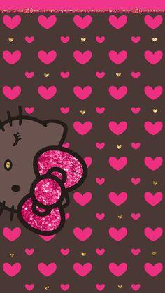 Holiday Wallpaper, Glitter Wallpaper, Butterfly Wallpaper, Disney Wallpaper, Hello Kitty Iphone Wallpaper, Hello Kitty Backgrounds, Melody Hello Kitty, Pink Hello Kitty, Keroppi Wallpaper