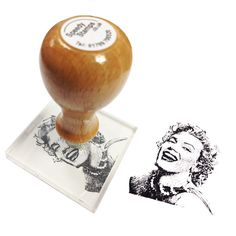 Image of Selfie/Portrait Rubber Stamps