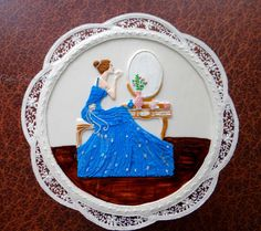 Lady in Royal icing by Prachi DhabalDeb