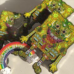 Spongebob pins by Ivi Mo