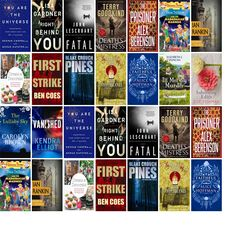 "Wednesday, February 8, 2017: The Corbin Public Library has four new bestsellers, two new audiobooks, one new children's book, and nine other new books.   The new titles this week include ""You Are the Universe: Discovering Your Cosmic Self and Why It Matters,"" ""Right Behind You,"" and ""Fatal: A Novel."""