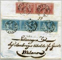 1853, 23 ottobre. Da Firenze a Milano