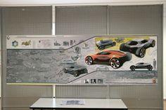 Renault 5 Industrial Design Portfolio, Industrial Design Sketch, Portfolio Design, Portfolio Ideas, Presentation Design, Presentation Boards, Product Presentation, Industrial Sheets, Transportation Design