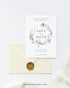 Greenery Save the Date Template Purchase, personalize, and print within minutes! Edit using the Templett app in your computer browser – no additional software needed! Please try demo and seek clarification before purchasing the template. FREE DEMO ━━━━━━ Boho Wedding Flowers, Boho Wedding Decorations, Wedding Ideas, Wedding Invitation Etiquette, Wedding Invitation Templates, Wedding Invitations, Wedding Stationery Inspiration, Bohemian Wedding Inspiration, Save The Date Invitations
