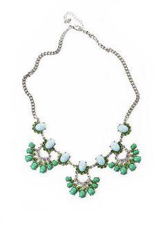 HATTON GARDEN BEADED NECKLACE Francesca's | Womens Clothing Stores & Online Boutique