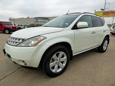 Viva Murano! Enjoy the Drive in This Gorgeous 1-Tx-Owner 2007 #Nissan #Murano SL #SUV with Leather & Heated Seats, Sunroof, Backup Cam, Just 98K Miles & a Clean CARFAX for Only $9,350! -- http://hertelautogroup.com/2007-Nissan-Murano/Used-SUV/FortWorth-TX/8791401/Details.aspx  #nissanmurano #firstcar