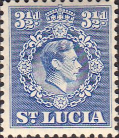 St Lucia 1938 King George VI Fine Used SG 133a Scott 116 Other British Commonwealth Stamps for sale here