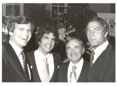 Phoenix House Founder Dr. Mitchell S. Rosenthal and our friend Tom Brokaw
