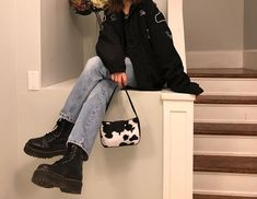35 great ideas for winter outfits 4 - Street Style Aesthetic Fashion, Aesthetic Clothes, Look Fashion, 90s Fashion, Korean Fashion, Fashion Outfits, Aesthetic Style, Gucci Outfits, Fashion Hacks