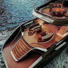 Yacht Design, Boat Design, Design Design, Palmer Johnson Yachts, Yachting Club, Princess Yachts, Living On A Boat, Yacht Interior, Interior Design