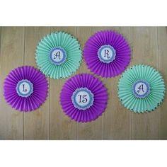 Rosetas Flores De Papel Guirnaldas Pompones - $ 16,00 en MercadoLibre