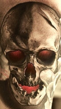 Nuked skull
